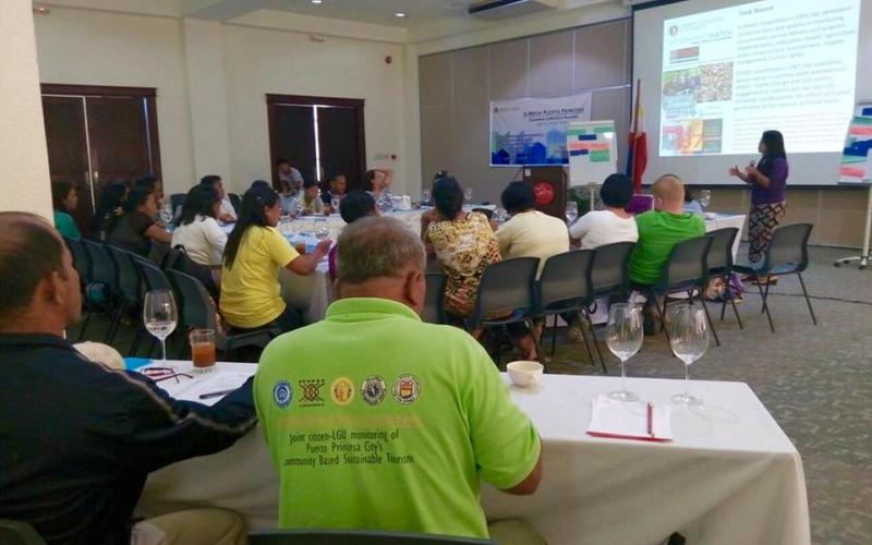 Participants look on during the G-Watch Puerto Princesa Volunteers & Monitors Reunion in April 2016.